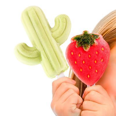 Molde helado cactus