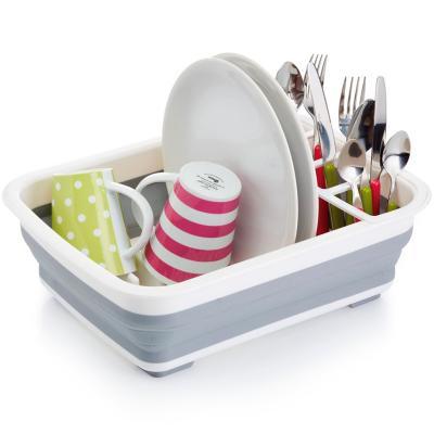 Escurridor platos y cubiertos plegable