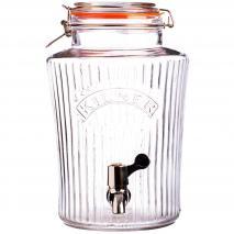 Dispensador bebidas cristal Vintage