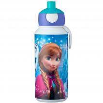 Botella pop-up 400 ml Frozen sisters
