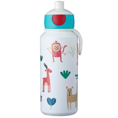 Botella pop-up 400 ml animal friends