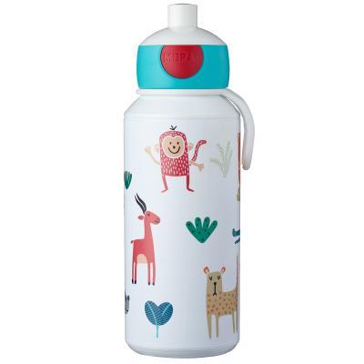 Botella pop-up 400 ml animal friends