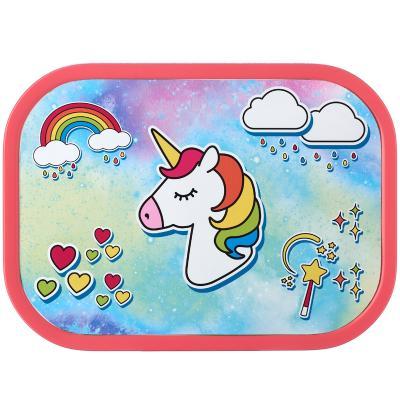 Fiambrera mediana Lunchbox unicornio