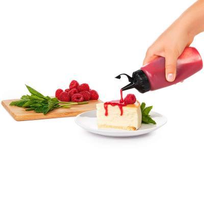 Biberón Oxo para salsas con tapón