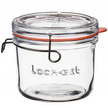 Tarro cristal con tapa y junta silicona Lock Eat