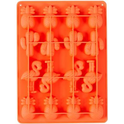 Molde silicona bombones x16 Cactus y Flamenco
