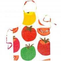 Delantal algodón Studio Tomate sauce