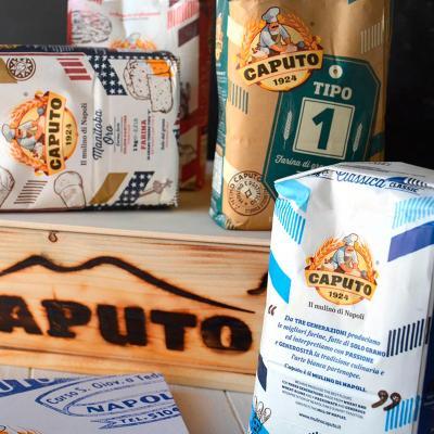 Harina Caputo 00 universal y pizza azul 1 kg