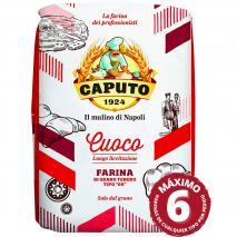 Harina Caputo 00 pizza larga fermentación cuoco