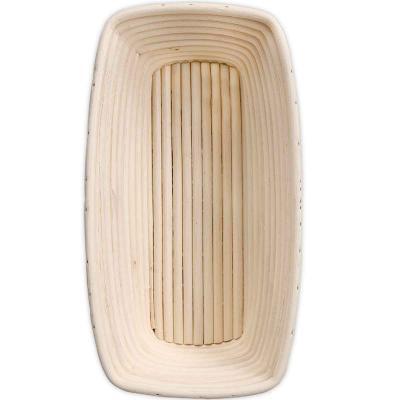 Banetton cesta de levado rattan pan ovalada