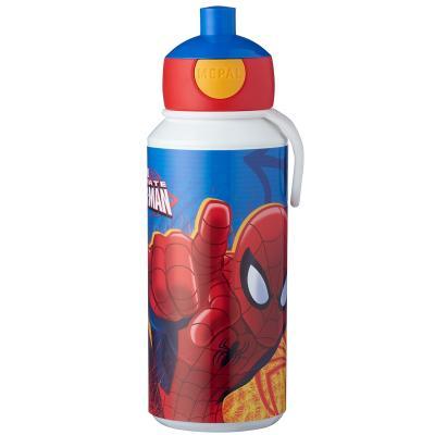 Botella pop-up 400 ml Spiderman