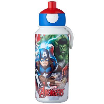 Botella pop-up 400 ml Vengadores