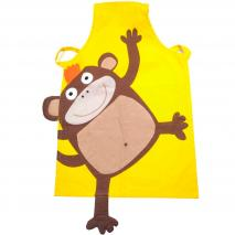 Delantal infantil mono Cheeky monkey