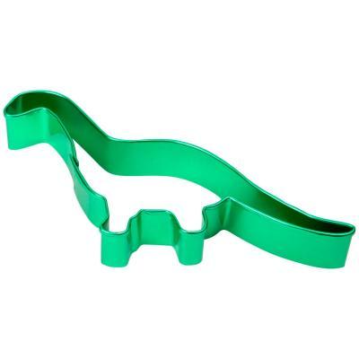 Cortador galletas dinosaurio verde
