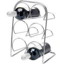 Botellero vertical para 6 botellas vino