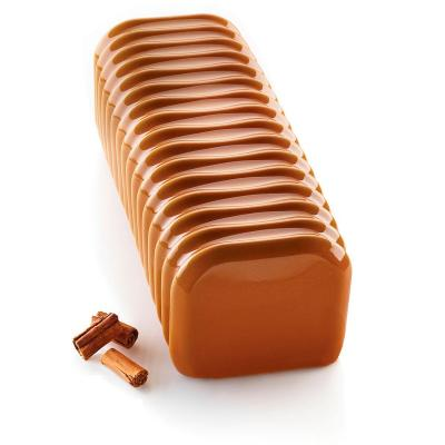 Molde silicona rectangular Bandoneón 1800