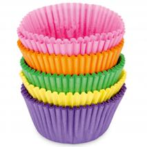 Paper cupcakes colors assortits x100