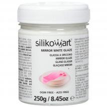Gel para glaseado brillante blanco 250 g