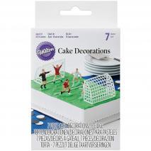 Juego 7 piezas decoración fútbol