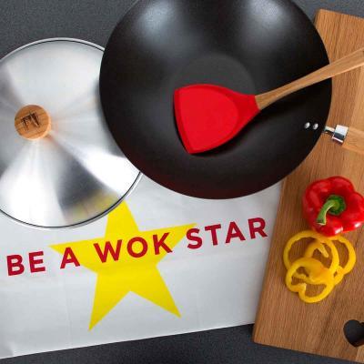 Wok antiadherente Be a wok star