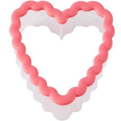 Cortador galletas plástico comfort grip Corazón R