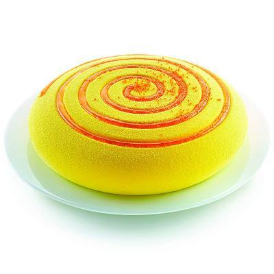 Spray alimentario efecto terciopelo amarillo
