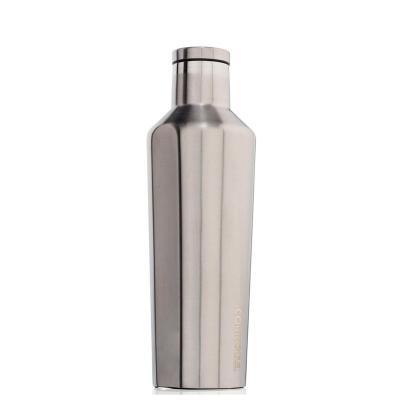 Botella térmica acero Corkcicle 475 ml plateado