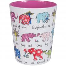 Vaso infantil elefantes