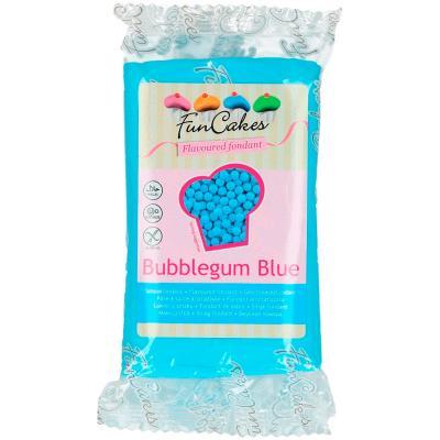 Fondant FunCakes sabor Chicle azul 250 g