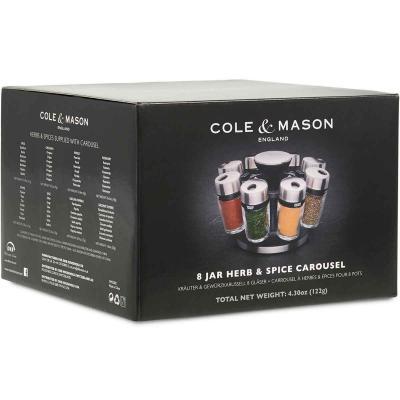 Carrusel especias Cole Mason con 8 especieros