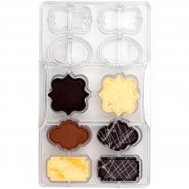 Molde policarbonato para bombones Placas x10
