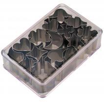 Juego 15 cortapastas formas 1,5-2,5 cm