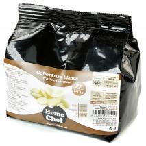 Cobertura xocolata blanca 27% 500 gr