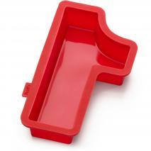Motllo número 1 silicona 31 cm
