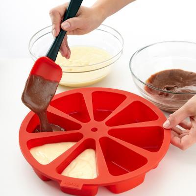 Molde redondo silicona Cake Portion 8 cav