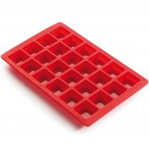 Molde mini Brownies silicona 24 cav.