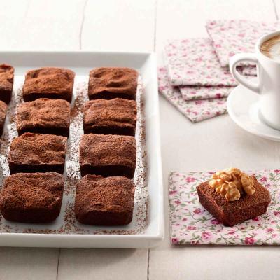 Molde mini Brownies silicona 24 cav.