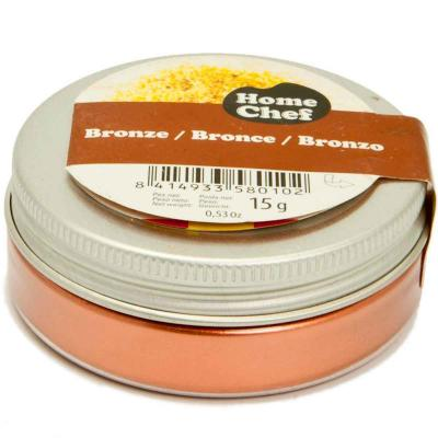 Colorante polvo 15 g HomeChef bronce