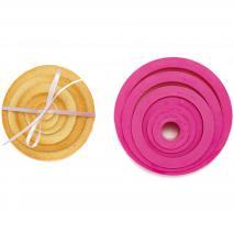 Set 6 talladors galetes circulars tamanys