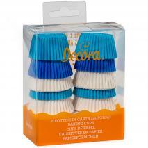 Paper mini cupcakes x200 Blanc i Blaus