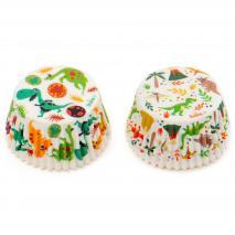 Paper cupcakes x36 Dinosauri
