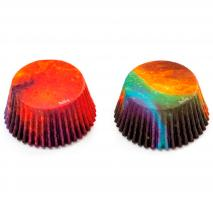 Papel cupcakes x36 Galaxia