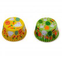 Papel cupcakes Pascua x36