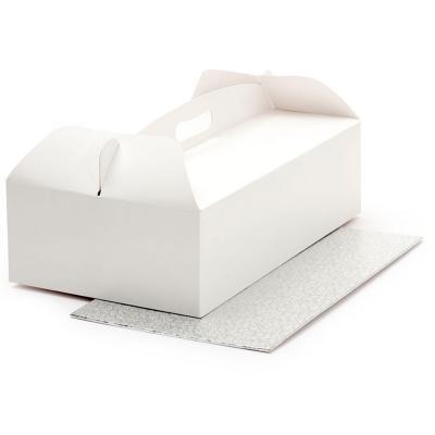 Caja para pasteles con asa y base  46x36x12
