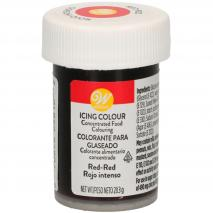 Colorant en pasta Wilton 28 g vermell