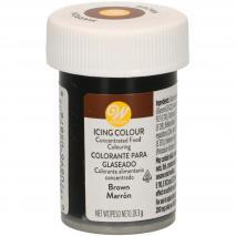 Colorante en pasta Wilton 28 g marrón