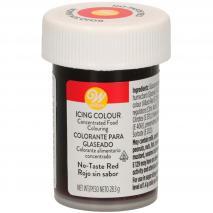 Colorante en pasta Wilton 28 g rojo sin sabor