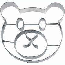 Cortador galletas cara oso Teddy 10 cm