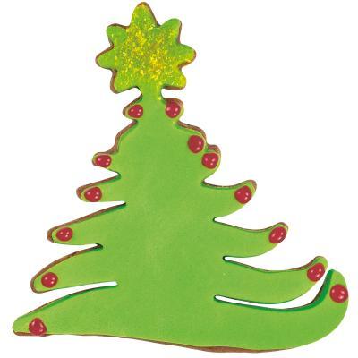 Cortador galletas árbol de navidad con estrella
