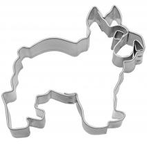 Cortador galletas perro Bulldog 6,5 cm